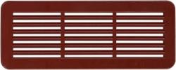 Mřížka větrací krytka VM 150x60 2ks Barva: bílá