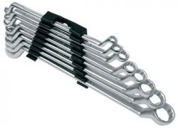 Klíče očkové vyhnuté 8ks 6-22mm