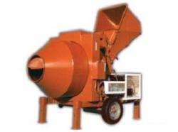Míchačka stavební LHB1200/380V s hydraulickou násypkou