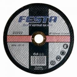 Kotouč na kov řezný FESTA Velikost - průměr 230 mm, Síla kotouče