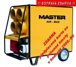 Naftové topidlo MASTER BV 690 FS 220 kW