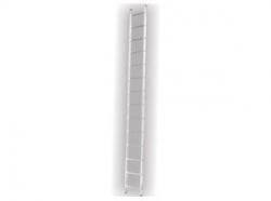 Jednostranný hliníkový žebřík 1x9 2,472m