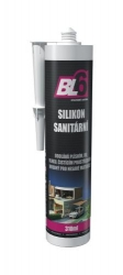 Silikon sanitární BL6 bílý - kartuše 310ml - DOPRODEJ