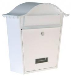 Schránka poštovní 370x364x134mm - bílá
