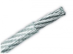 Ocelové lanko v PVC 5/6mmx50m