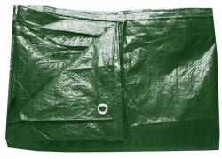 Plachta zakrývací ZELENÁ 2x3m standard rozměry v metrech: 10x15