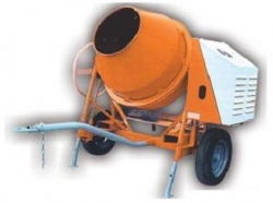 Míchačka stavební - příčná LB404/Robin diesel