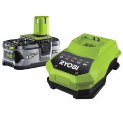 Akumulátor RYOBI RBC 18 L40 18V, 4,0 Ah + nabíječka