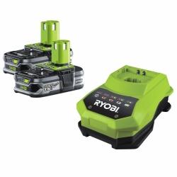 Akumulátor RYOBI RBC 18 LL15, 2x 18V, 1,5 Ah + nabíječka