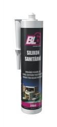 Silikon sanitární BL6 manhatan - kartuše 310ml - DOPRODEJ