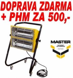 Elektrické topidlo MASTER HALL 3000 - infračervené