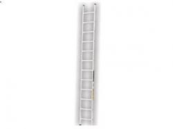 Jednostranný hliníkový žebřík 1x8 2,212m