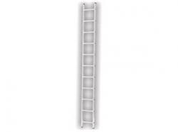 Jednostranný hliníkový žebřík 1x11 2,992m