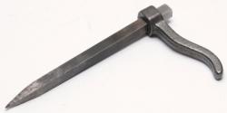 Skoba zednická 140mm čtyřhran, pozink.